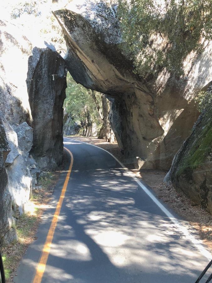 Rock entrance
