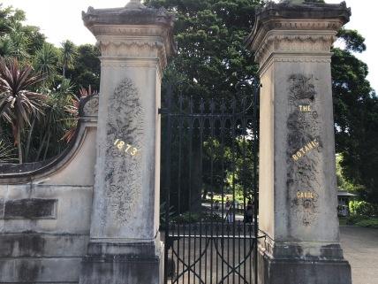 botatic garden gate