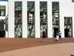 Entrance parliment house