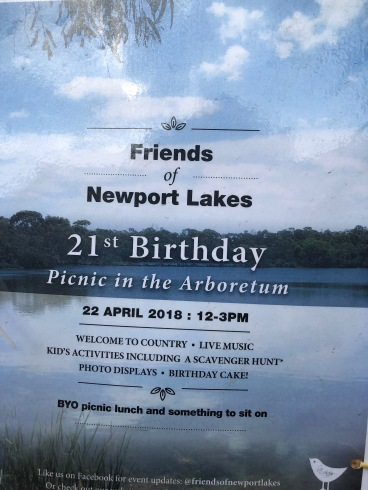 Newport Lakes friends picnic