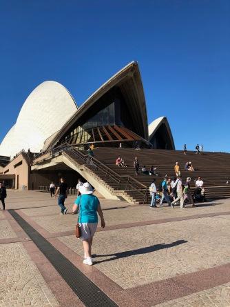 opera house walking