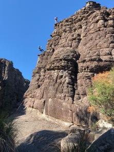 Wonderland rock climbers